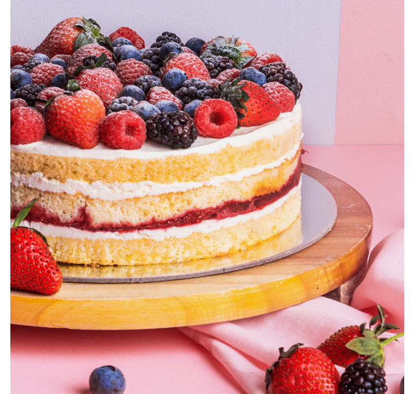 DSRTLab Strawberry Shortcake 8 inch - كيكة الفراولة 8 انش