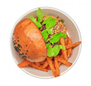 Quinoa Vegan Burger